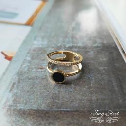 Podwójny pierścionek z...