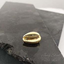 Czarms złota muszla