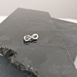 Charmsy do bransoletki srebrna nieskończoność